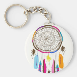Pretty Little Dream Catcher Keychain