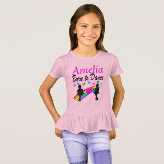 PRETTY LOVE TO DANCE PERSONALIZED T SHIRT
