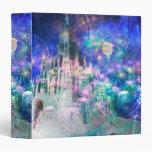 Pretty Magical Fairy Tale Fantasy Castle Binder