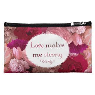 Pretty makeup bag - Flower pattern