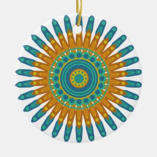 Pretty Mandala Christmas Ornament