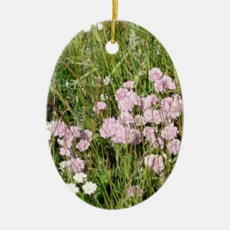 Pretty Meadow Ceramic Ornament