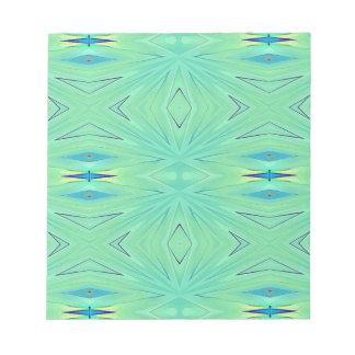 Pretty  Mint Green Aqua Pastel Spring Notepad