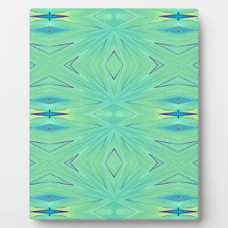 Pretty  Mint Green Aqua Pastel Spring Plaque