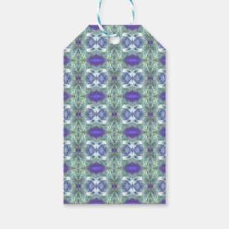 Pretty Mint Green Lavender Pastel Pattern Pack Of Gift Tags