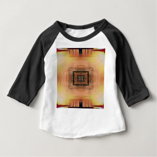 Pretty Mirror Image Lake Sunset Baby T-Shirt