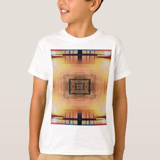 Pretty Mirror Image Lake Sunset T-Shirt