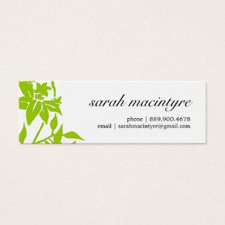 Pretty Mod Flower Mini Calling Cards