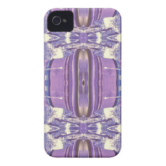 Pretty modern Lavender Pink Pastel Pattern iPhone 4 Case-Mate Cases