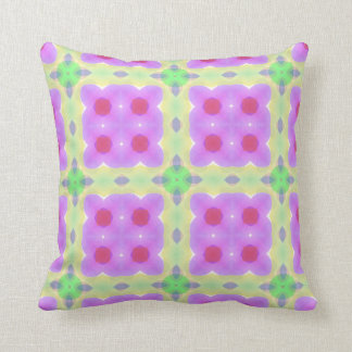 Pretty Modern Shapes Multicolor Throw Pillow