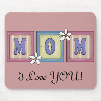 Pretty Mom Word Mouse Pad