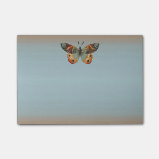 Pretty Monarch Butterfly Autumn Colors Post-it Notes