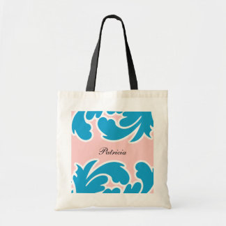 Pretty Monogram Tote Bag