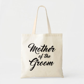 Pretty Mother of the Groom favour tote bag