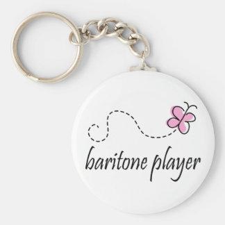 Pretty Music Baritone Gift Keychain