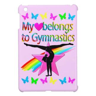 PRETTY MY HEART BELONGS TO GYMNASTICS RAINBOW COVER FOR THE iPad MINI