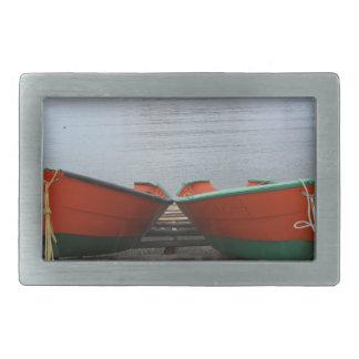 Pretty Newfoundland Boats Belt Buckles
