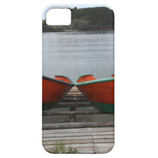 Pretty Newfoundland Boats Case For The iPhone 5