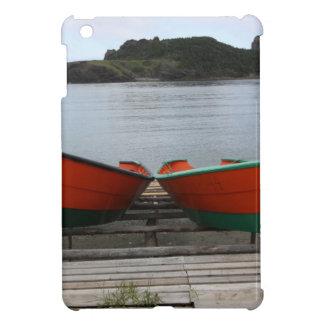 Pretty Newfoundland Boats Cover For The iPad Mini