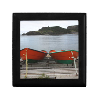 Pretty Newfoundland Boats Gift Box