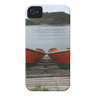 Pretty Newfoundland Boats iPhone 4 Case-Mate Case