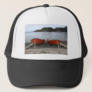 Pretty Newfoundland Boats Trucker Hat
