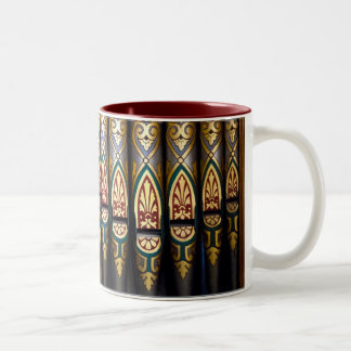 Pretty organ pipes mug