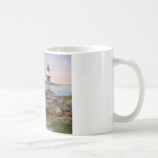 Pretty orient point lighthouse coffee mug