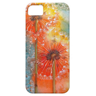 Pretty Painted Dandelion iPhone 5 Covers
