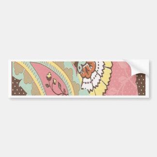 Pretty Paisley Bumper Sticker