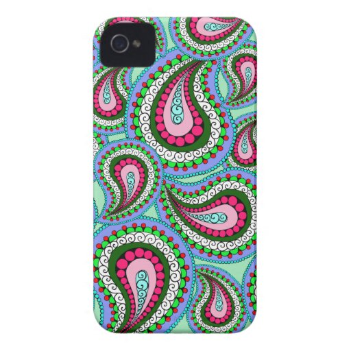 Pretty Paisley Phone Case iPhone 4 Case-Mate Cases