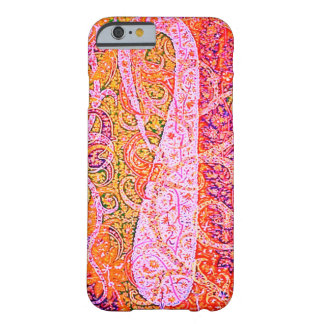 Pretty Paisley Print Barely There iPhone 6 Case