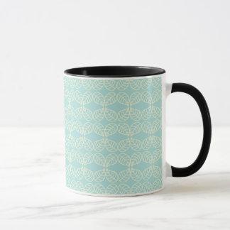 Pretty pale aqua mug