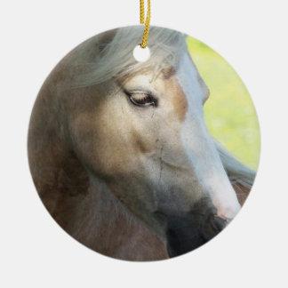 Pretty Palomino Ornament