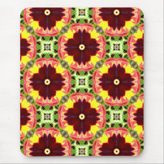 ~ Pretty Pansies Fractal ~ Mouse Pad