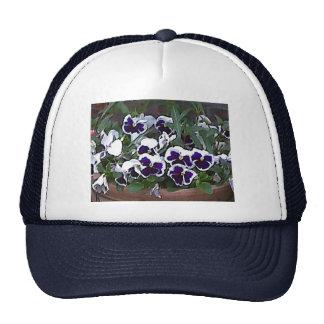 Pretty Pansies Trucker Hat
