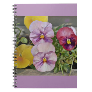 Pretty Pansy Notebook