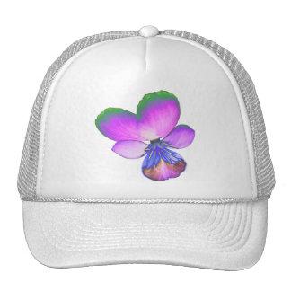 Pretty Pansy Trucker Hat