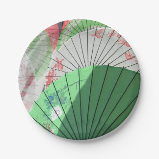 Pretty Parasol Paper Plate
