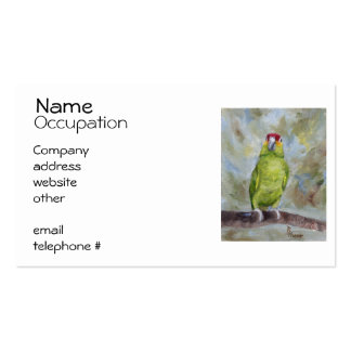 Pretty Parrot II Pack Of Standard Business Cards