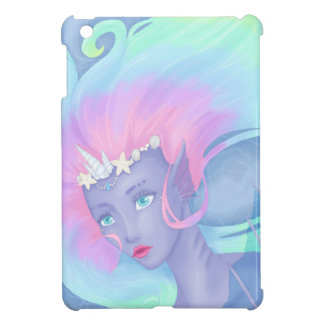 pretty pastel mermaid iPad mini cases
