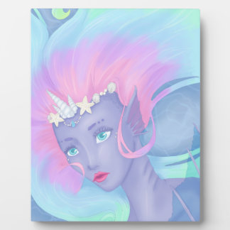 pretty pastel mermaid plaque