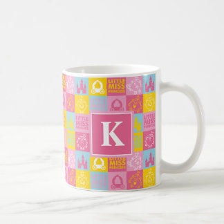 Pretty Pastel Pattern | Monogram Coffee Mug