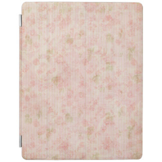 Pretty Pastel Pink Floral iPad Cover