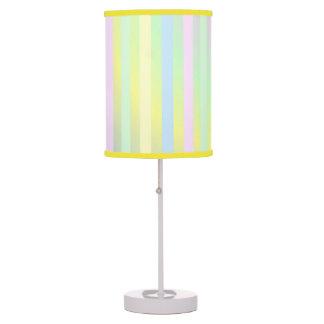 Pretty Pastel Striped Lamp
