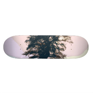 Pretty Pastel Tree Abstract Art Skateboard