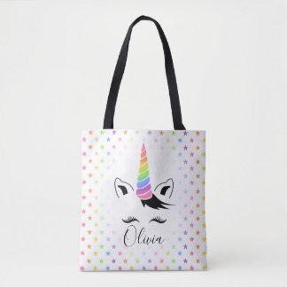Pretty Pastel Unicorn Tote Bag