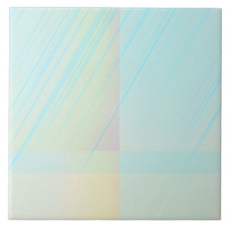 Pretty Pastels - Pale Colored Abstract Ceramic Tiles