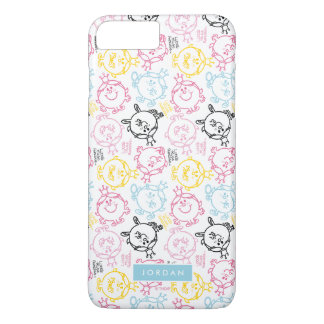 Pretty Pastels Pattern | Add Your Name iPhone 8 Plus/7 Plus Case