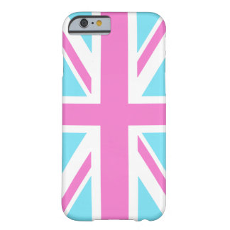 Pretty Pastels Union Flag iPhone 6 case Barely There iPhone 6 Case